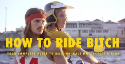 Etiquette for a male passenger on a motorcycle (1)