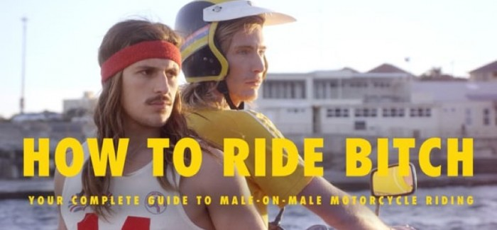 Etiquette for a male passenger on a motorcycle – Video