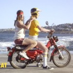 Etiquette for a male passenger on a motorcycle (3)