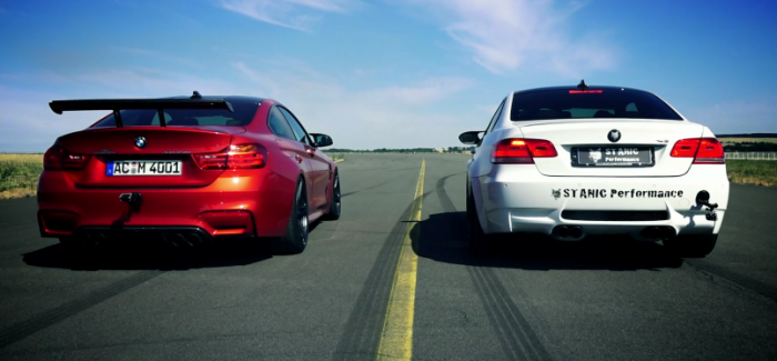 Exhaust Battle - BMW E92 M3 Custom Exhaust vs AC Schnitzer BMW M4