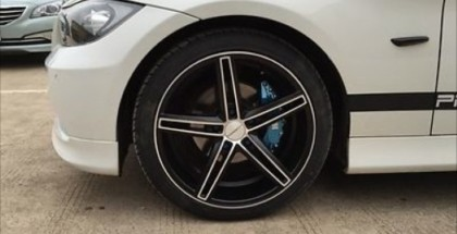 Fake BMW M Brake Caliper Covers (4)
