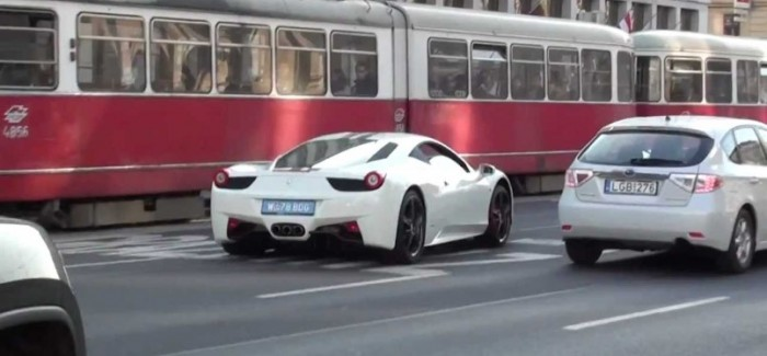 Ferrari 458 Crashes Into Minivan In Hong Kong Video