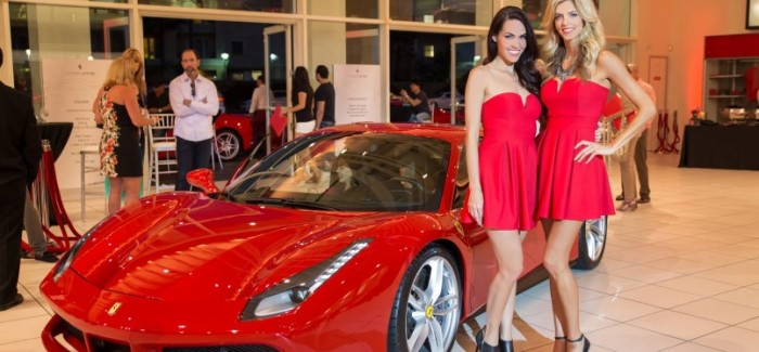 Ferrari 488 GTB Launch At Newport Beach