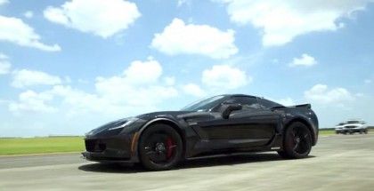 Hennessey 2015 HPE800 Z06 Corvette 0-175 mph Test Run (1)
