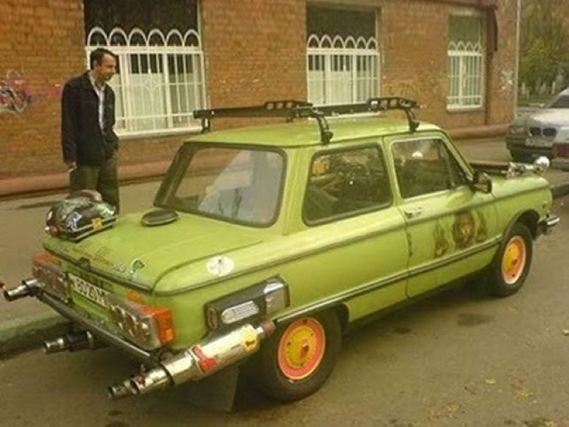 Hilarious Russian Car Tuning 5