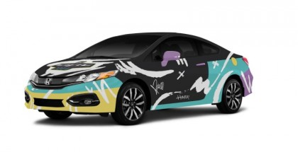Honda Civic Coupe by One Direction