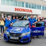 Honda Civic Tourer Guinness record for fuel efficiency (2)