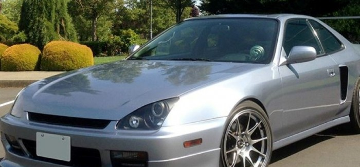 Honda Prelude With Two VTEC Engines