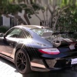 Hot babe learning how to drive stick in a half million Porsche 997 GT3RS 4 (2)