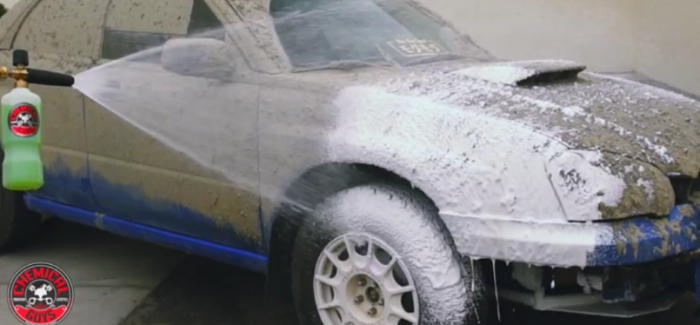 How To Clean A Mud Covered Rally Car – Video