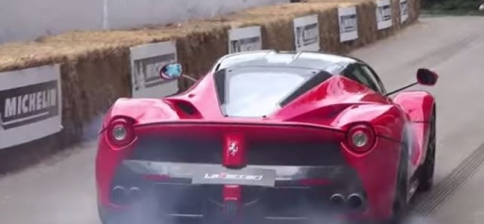 Hypercar and Supercar Burnout Competition – Video