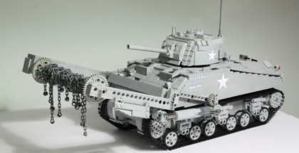 LEGO M4 Sherman Crab Is Amazing (1)