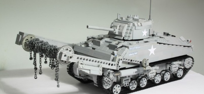 LEGO M4 Sherman Crab Is Amazing – Video
