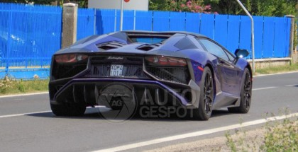 Lamborghini Aventador SV Roadster spy photo (3)