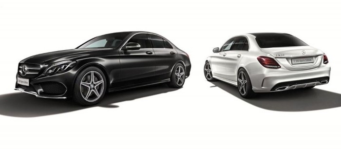 Mercedes C 200 Sports Edition For Japan – Official