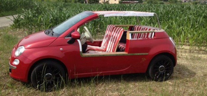 Modern Fiat 500 Jolly will cost you $89k