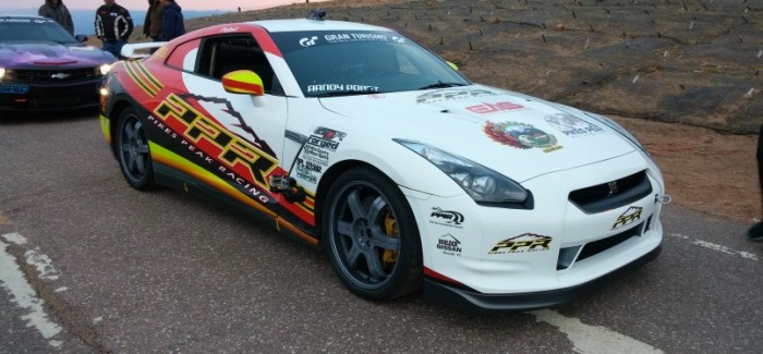 Motor Trend – Randy Pobst Takes on Pikes Peak with PPR Nissan GTR – Video