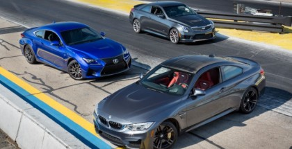 MotorWeek - BMW m4 vs Cadillac ATS-V vs Lexus RC-F  - 3