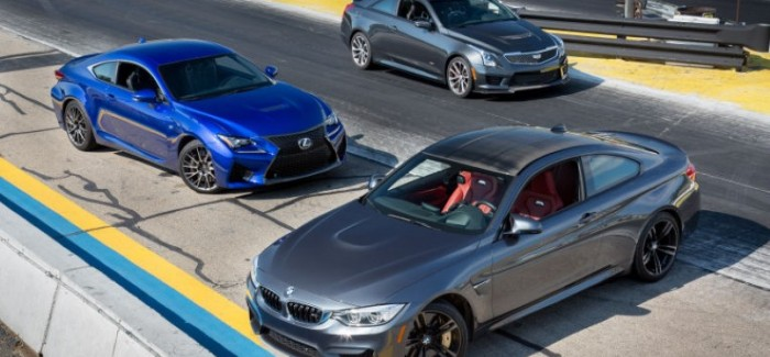 MotorWeek – BMW m4 vs Cadillac ATS-V vs Lexus RC-F – Video | DPCcars
