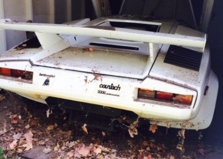 Neglected 1985 Lamborghini Countach with only 1700 miles on ebay