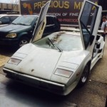 Neglected 1985 Lamborghini Countach with only 1700 miles on ebay (3)