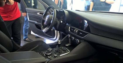 New Alfa Romeo Giulia interior revealed (6)