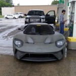 New Ford GT Caught In A Gas Station (2)