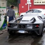 New Ford GT Caught In A Gas Station (3)