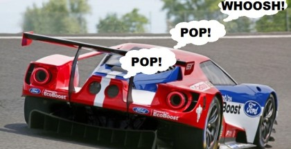 New Ford GT On Track Sounds Amazing With Crackle and Poping Noises (2)
