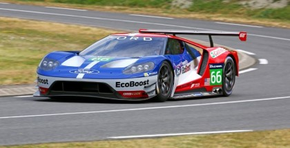 New Ford GT Race Car Testing (2)