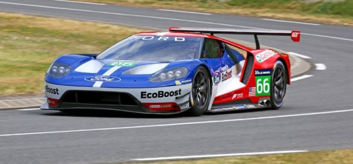 New Ford GT Race Car Testing – Video