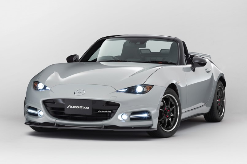 new mazda mx 5 by autoexe dpccars. Black Bedroom Furniture Sets. Home Design Ideas