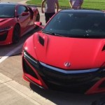 New Red Acura NSX's Have Been Caught On Camera In Public Street (1)