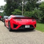 New Red Acura NSX's Have Been Caught On Camera In Public Street (4)