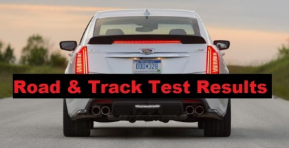 OMG!!!! 2016 Cadillac CTS-V Test Results - Road & Track