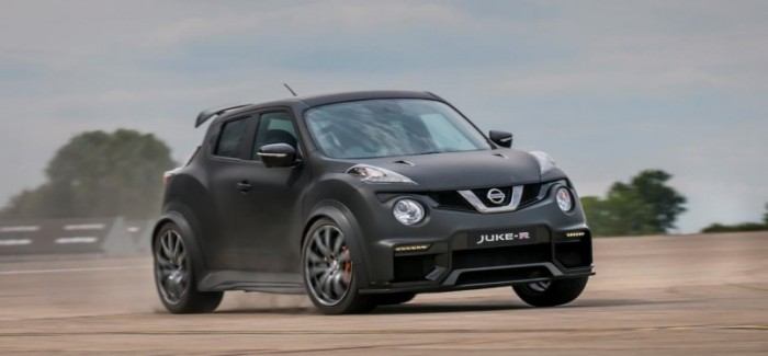 Only 17 600PS Nissan Juke-R 2.0 crossover supercars will be built