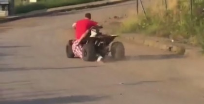 Painful Silly ATV Crash