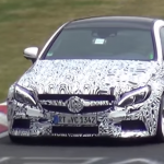 Photos and video 2017 Mercedes-AMG C63 Coupe Testing 1
