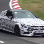 Photos and video 2017 Mercedes-AMG C63 Coupe Testing 2