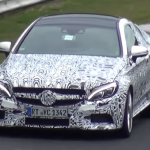 Photos and video 2017 Mercedes-AMG C63 Coupe Testing 6