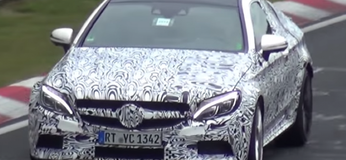 Photos and video 2017 Mercedes-AMG C63 Coupe Testing – Video
