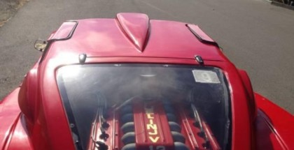 Pontiac Fiero-based Ferrari Enzo replica is a Fail (2)