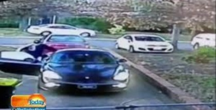 Porsche gets stolen while left warming up on driveway