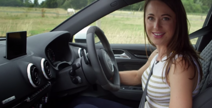 Rebecca Jackson 2015 Audi RS3 Review