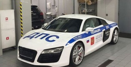 Russian Police Audi R8 Superc Cop Car (3)