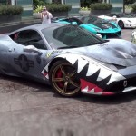 Shark Week is here so we present you with Shark wrapped Ferrari 458 Speciale (1)