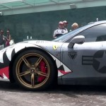 Shark Week is here so we present you with Shark wrapped Ferrari 458 Speciale (4)