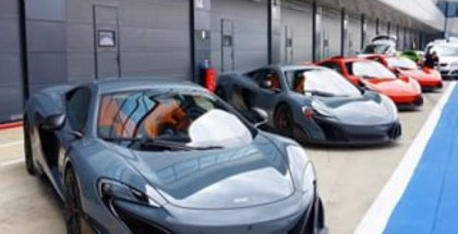 Shmee150 visits Silverstone to check out his future ride McLaren 675LT (2)