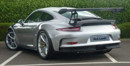 Silver Porsche 991 GT3 RS Listed For $450,000 (2)