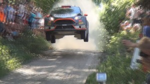 Spectators getting too close to jumping WRC Rally Cars (2)